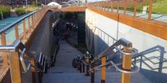 Cobertura de vías en Sants